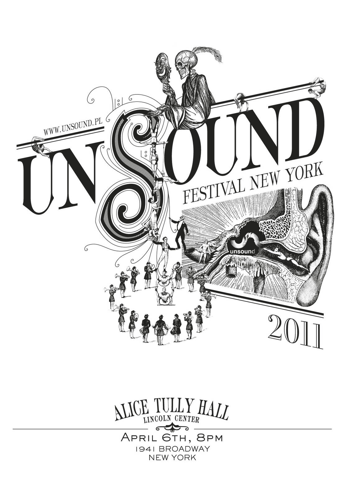 Unsound New York 2011 poster