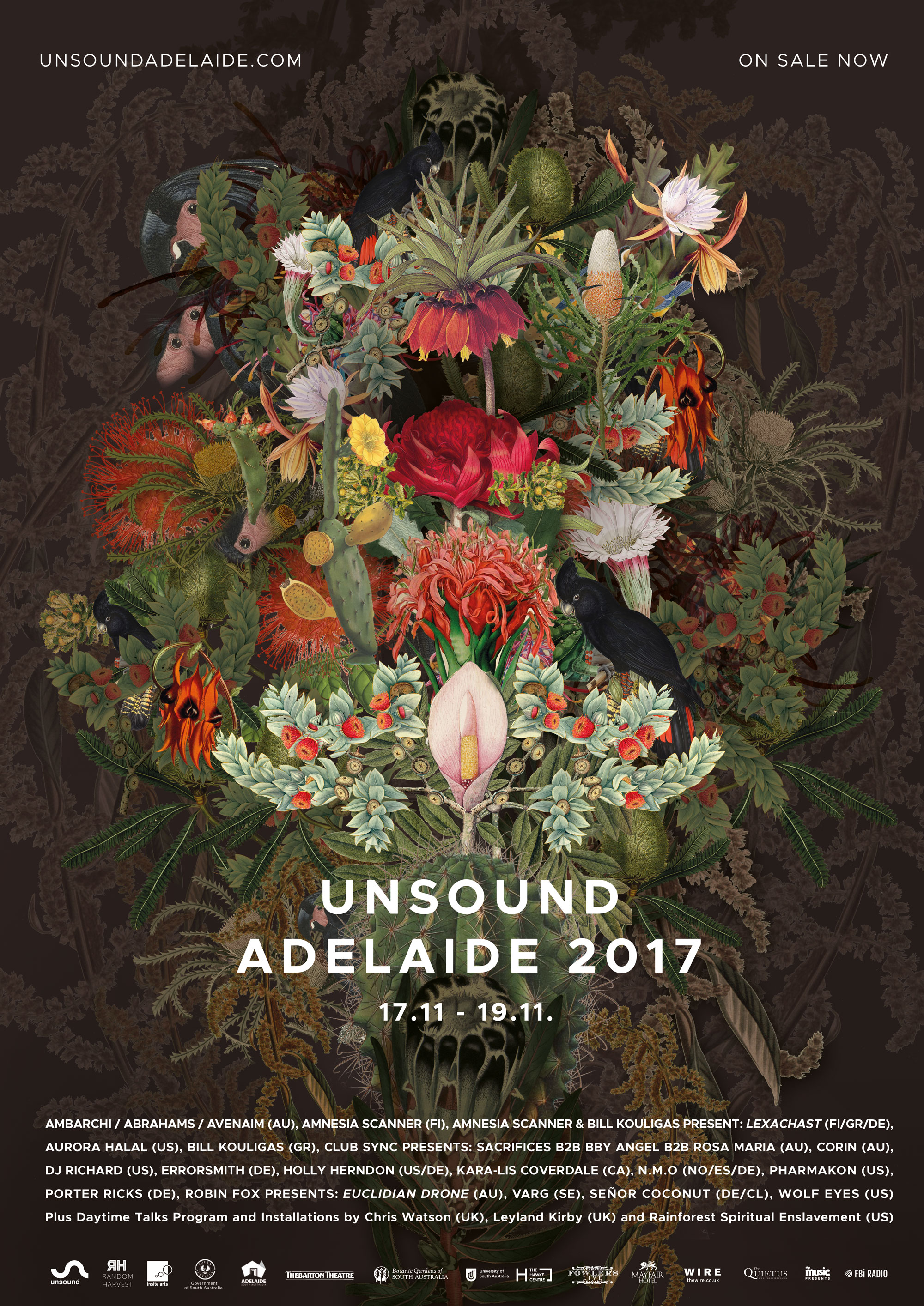 Unsound Adelaide 2017 poster