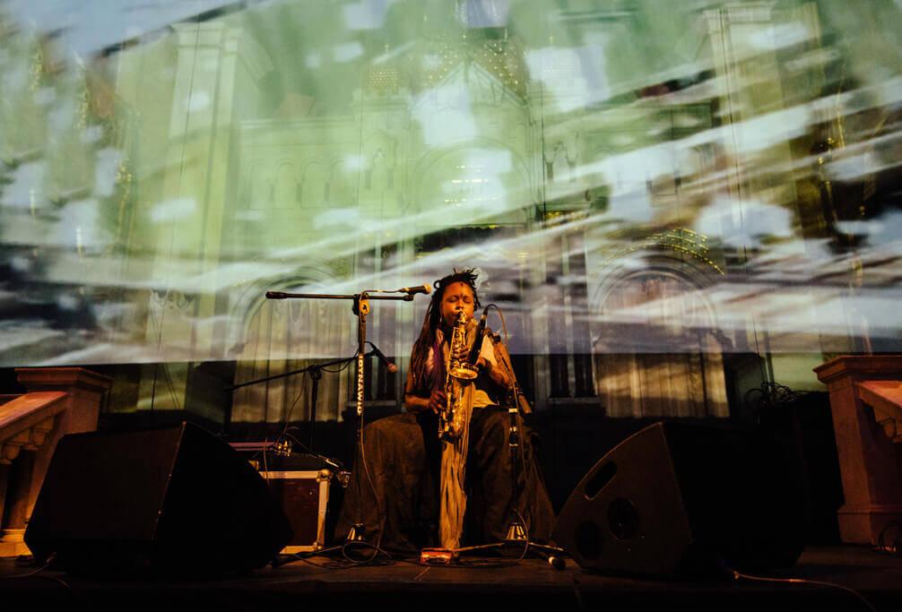 Matana Roberts at Unsound 2015