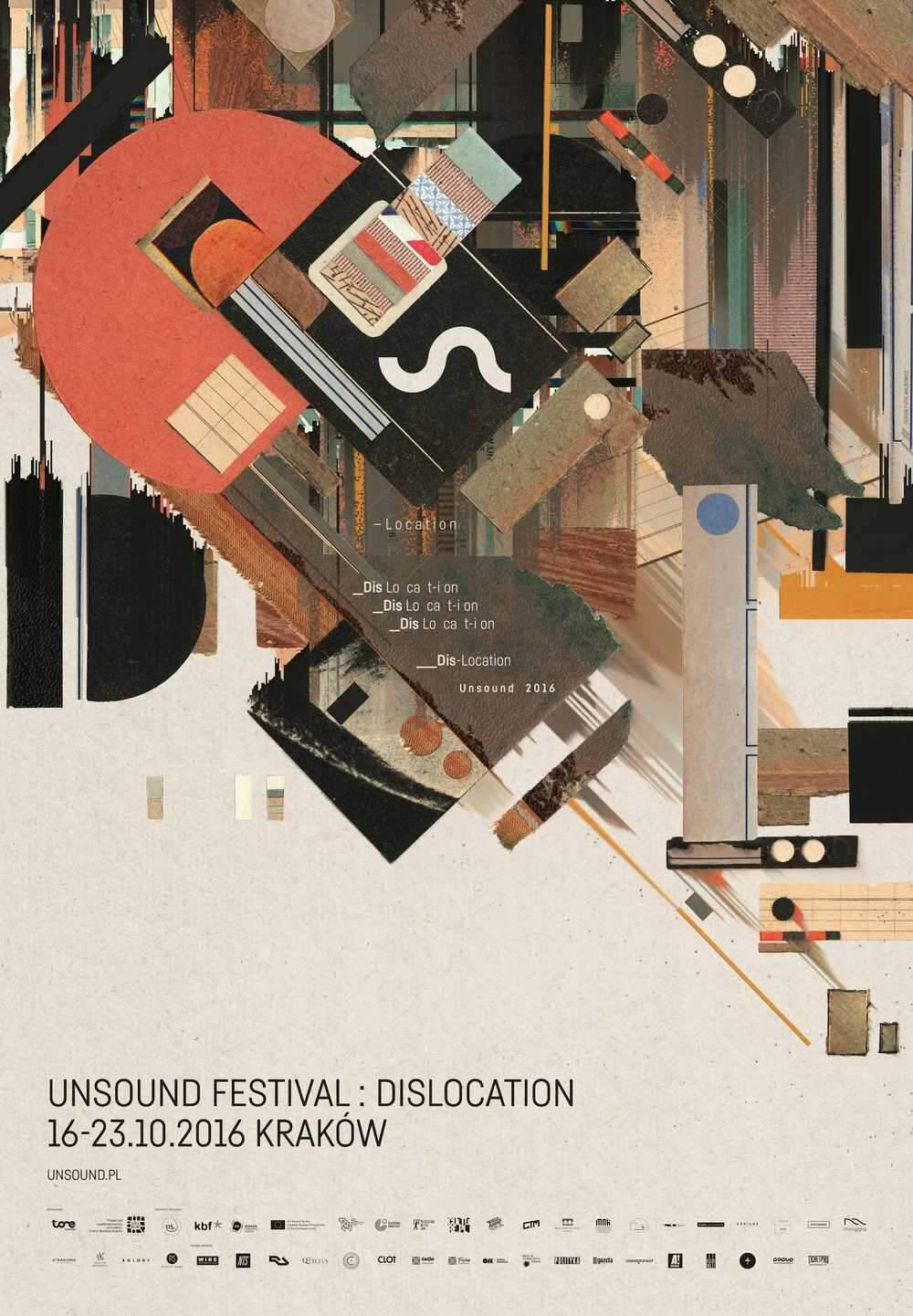 Unsound Kraków 2016: Dislocation poster