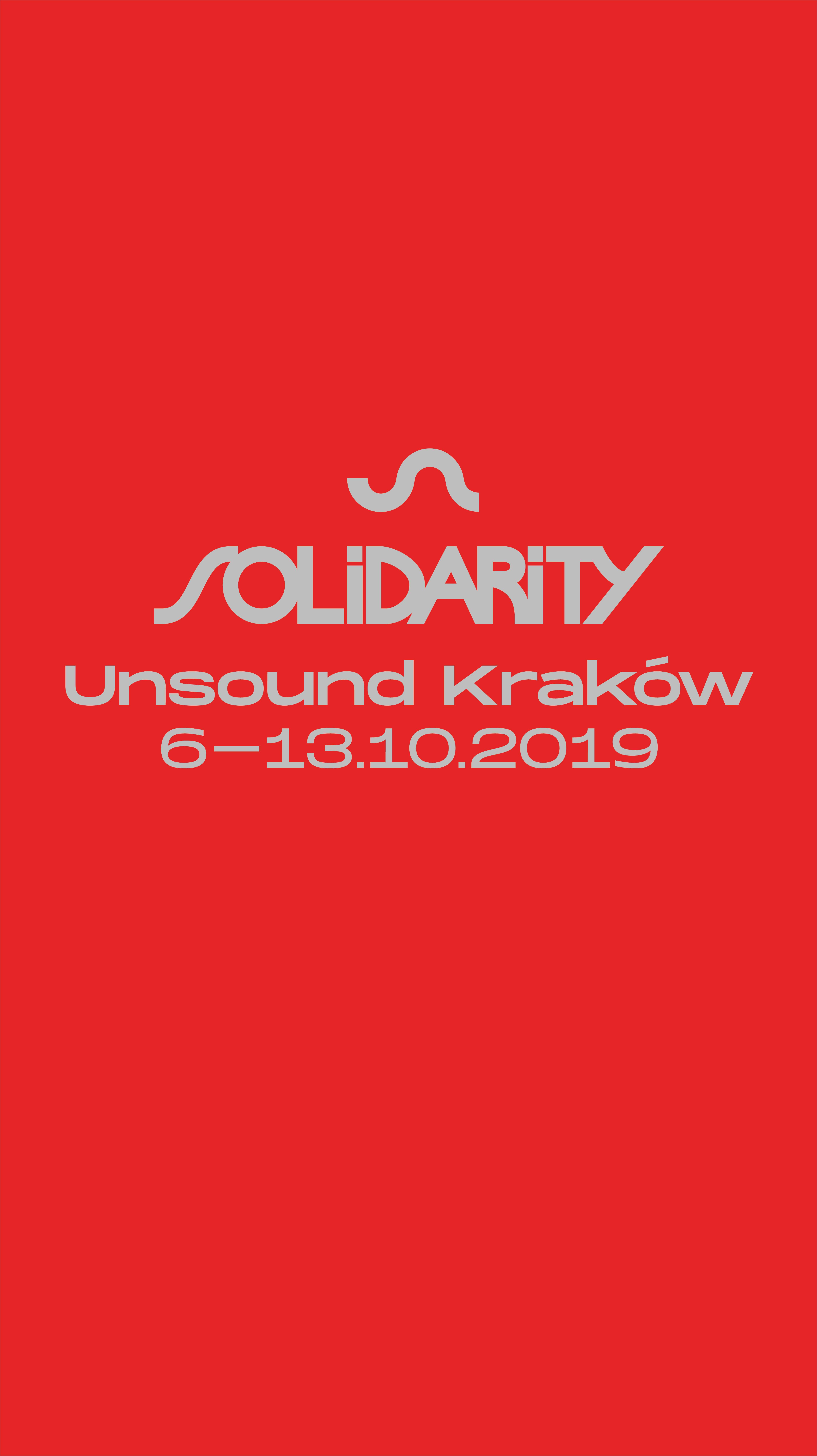 Unsound Kraków 2019: Solidarity