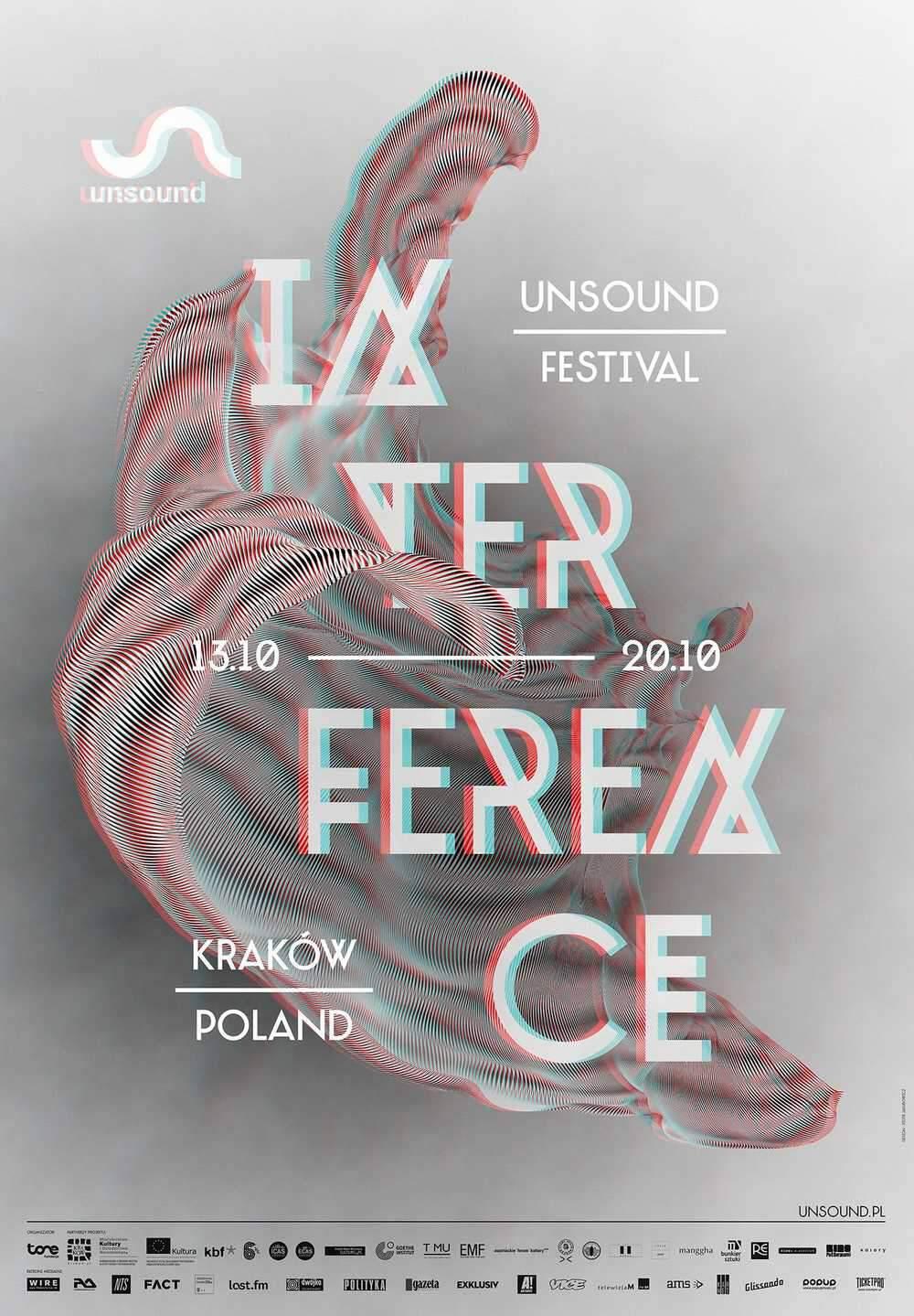 Unsound Kraków 2013: Interference poster