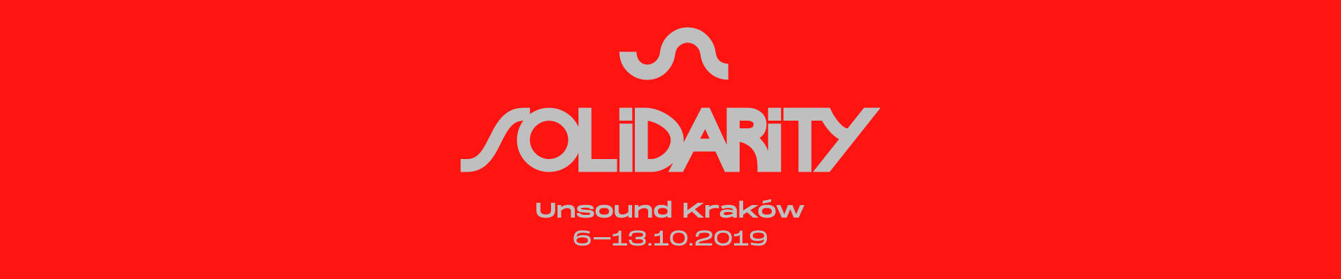Unsound 2019: Solidarity