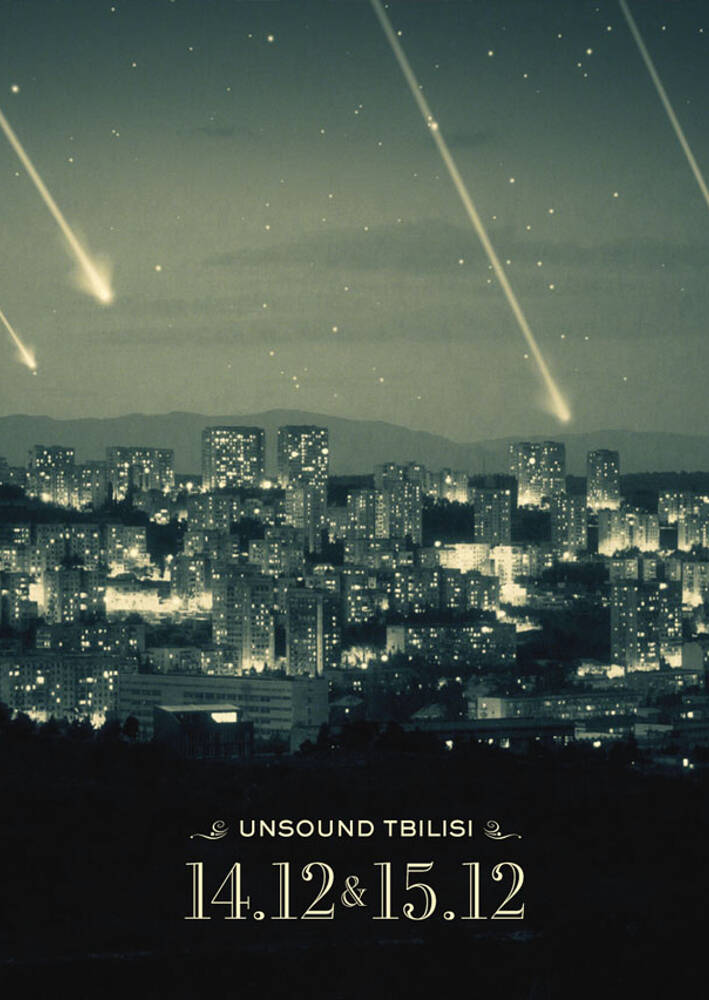 Unsound Tbilisi 2012 poster