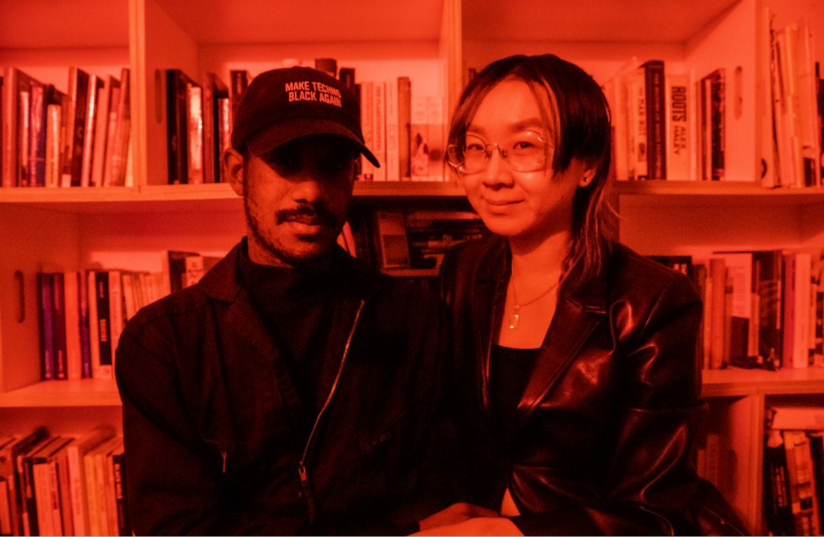 Photo of Ting Ding and De Forest Brown, Jr.