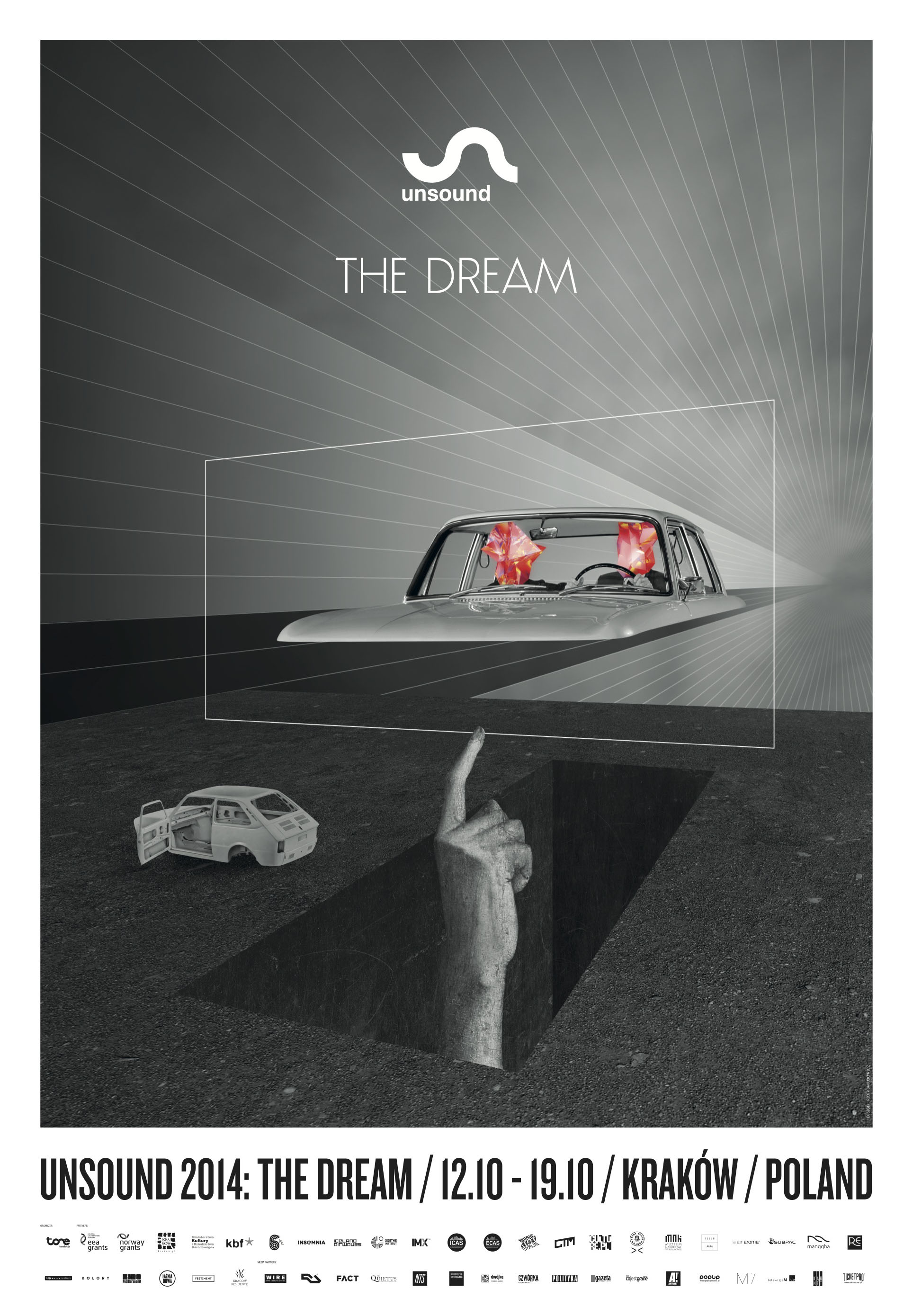 Unsound Kraków 2014: The Dream poster