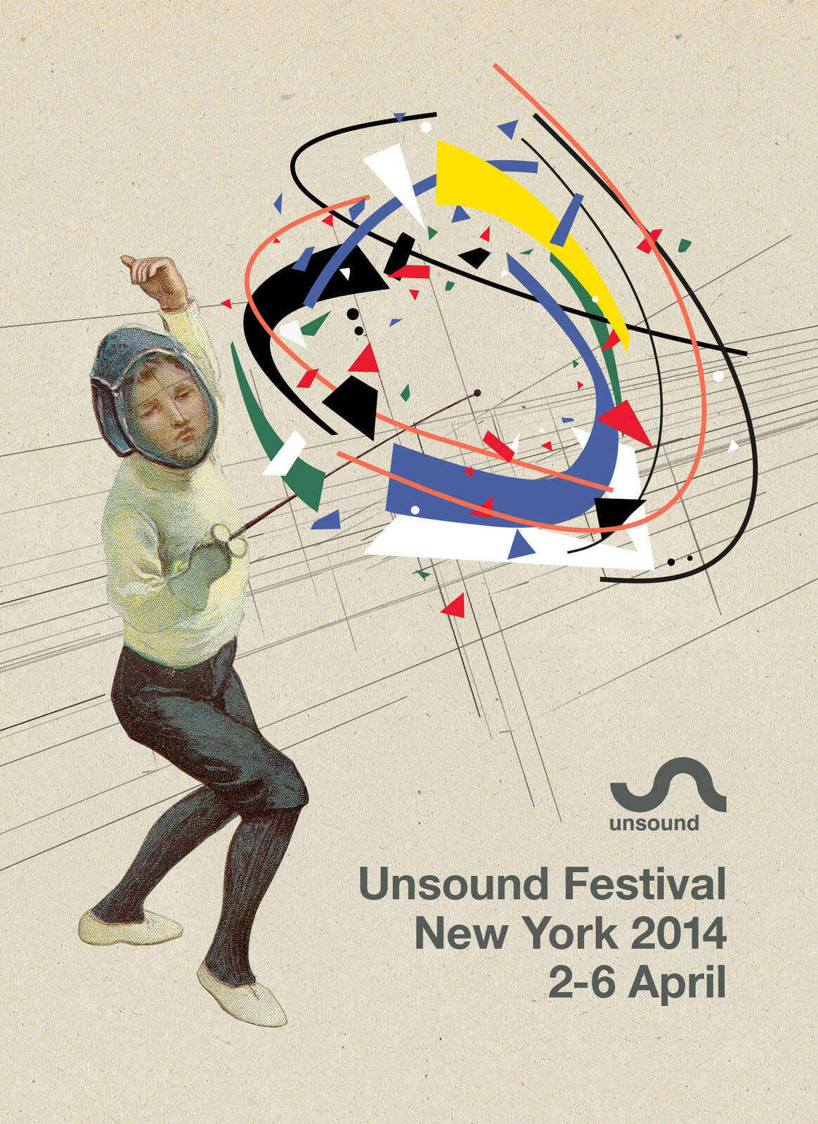 Unsound New York 2014 poster