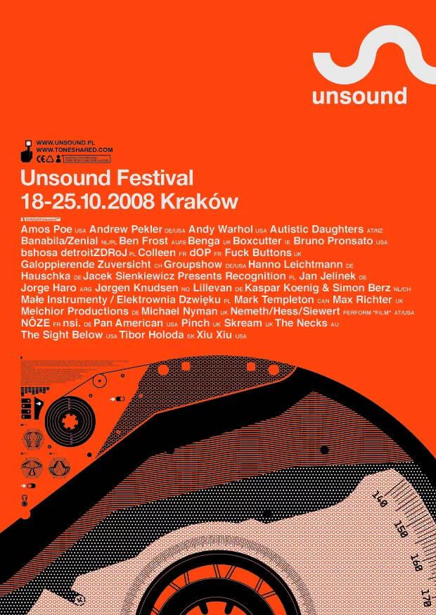 Unsound Kraków 2008 poster