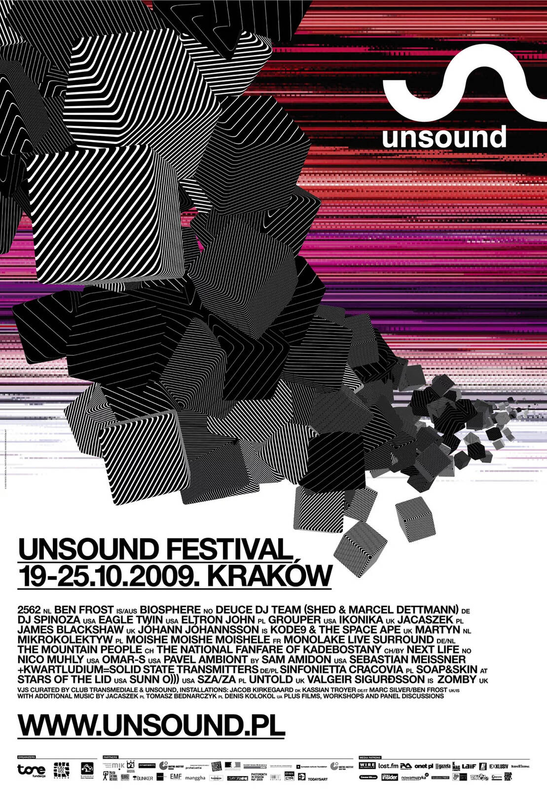 Unsound Kraków 2009 poster
