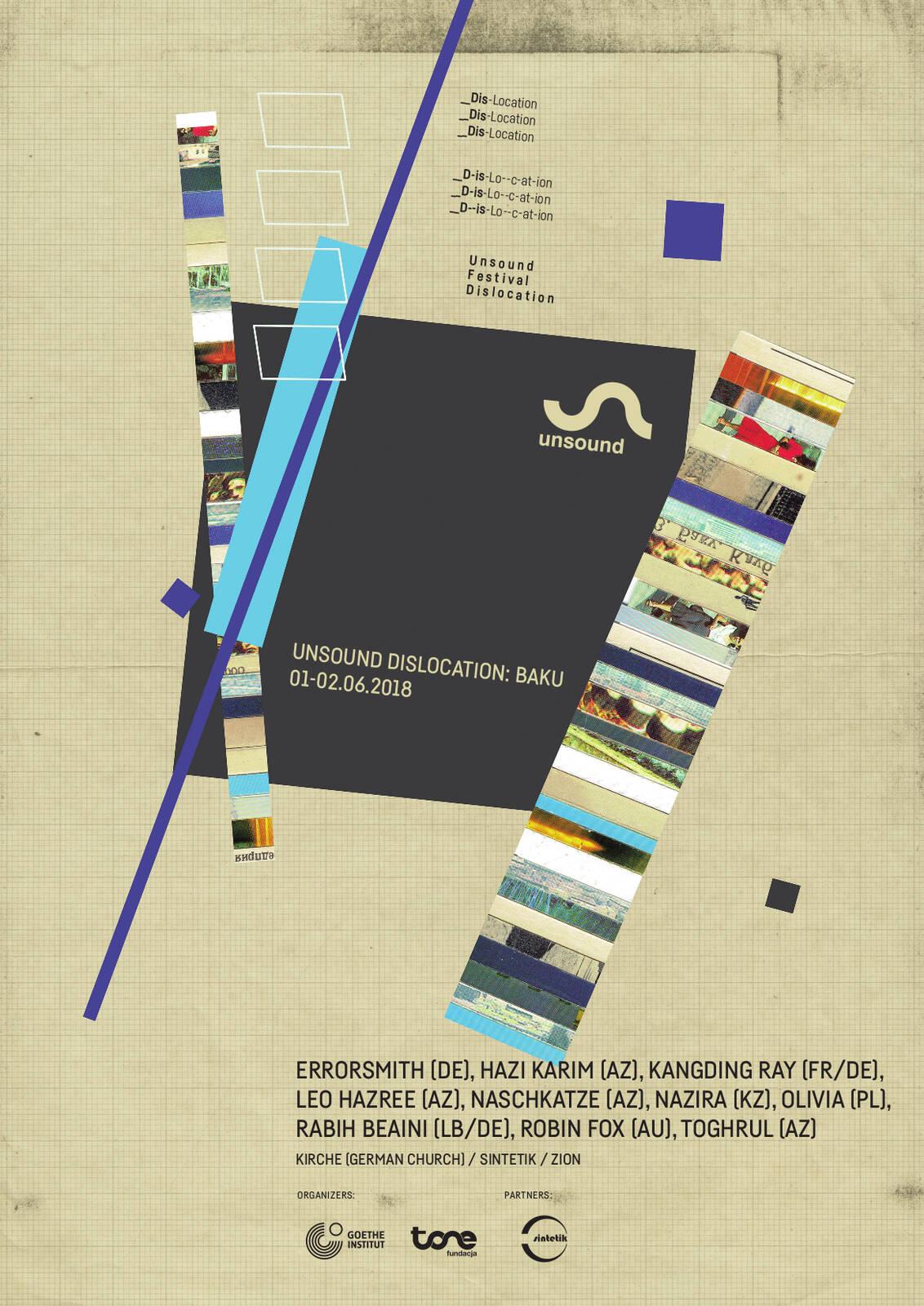 Unsound Dislocation: Baku poster