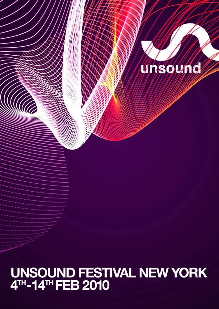 Unsound New York 2010 poster