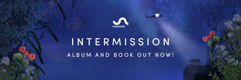 banner z datą premiery albumu i książki Intermission, 5 marca 2021